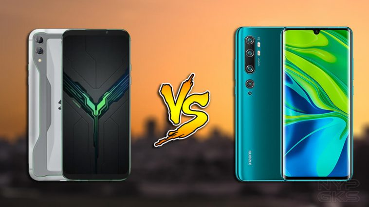 Xiaomi-Black-Shark-2-vs-Mi-Note-10-specs-difference