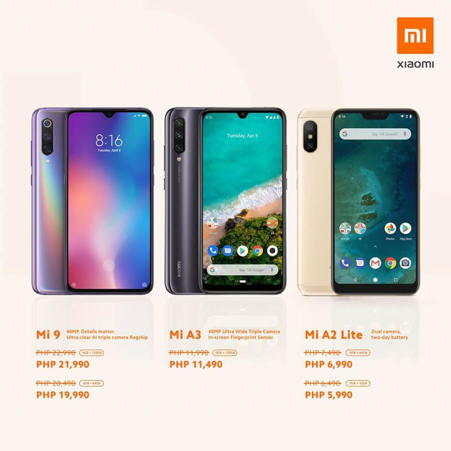 Xiaomi-Mi-9-A3-A2-Lite-philippines