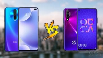 POCO-X2-vs-Huawei-Nova-5T-specs-comparison
