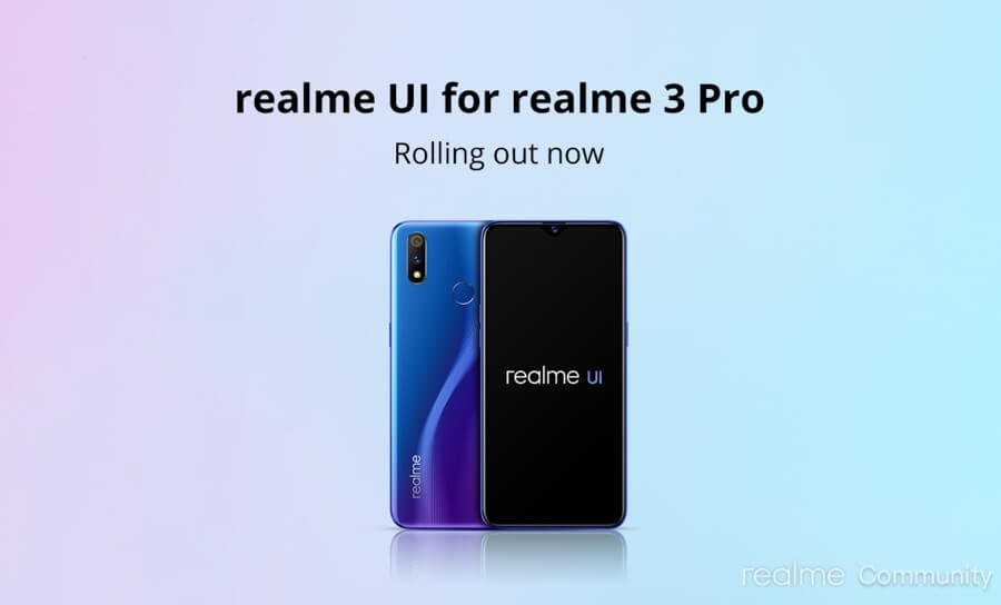Realme-3-Pro-Android-10-update