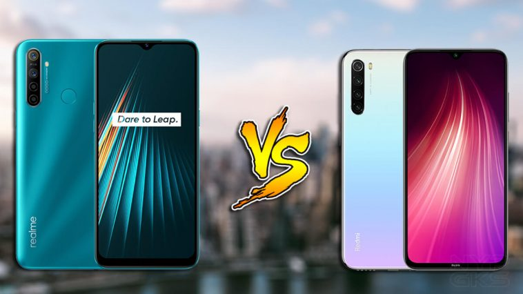 Realme-5i-vs-Xiaomi-Redmi-Note-8-specs-comparison