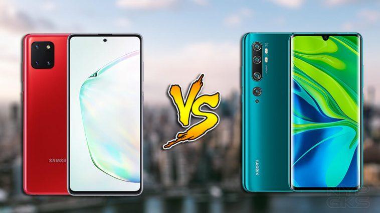 Samsung-Galaxy-Note-10-Lite-vs-Xiaomi-Mi-Note-10-specs-comparison