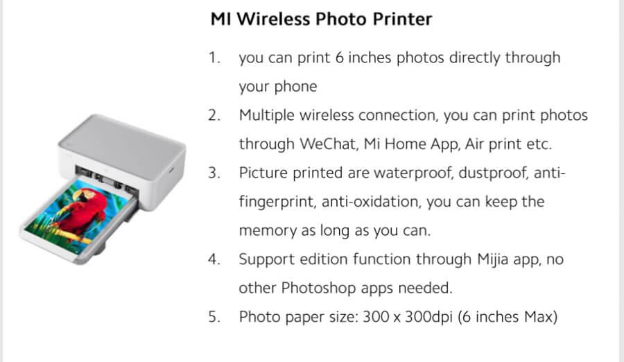 Xiaomi-Mi-Wireless-Photo-Printer-Philippines