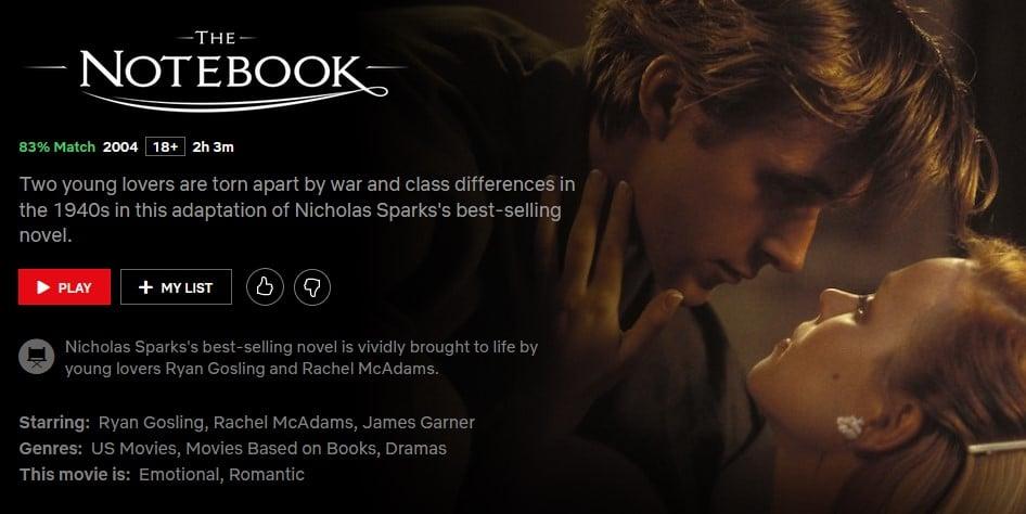 The-Notebook-Best-Romance-Films-Movies-Netflix-NoypiGeeks