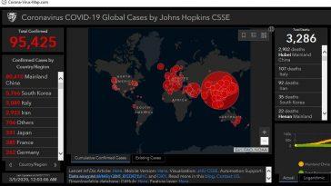 Hackers-coronavirus-map