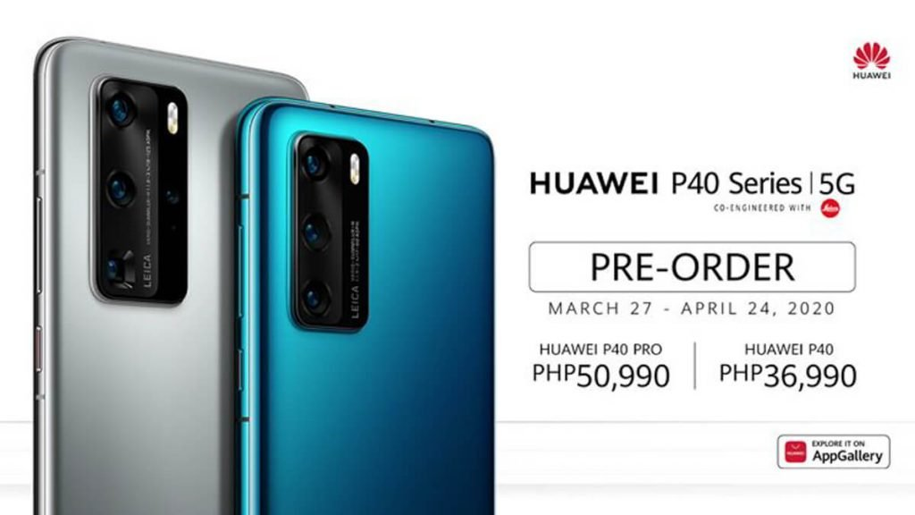 Huawei-P40-and-P40-Pro-Price-Philippines
