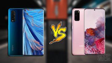 OPPO-Find-X2-vs-Samsung-Galaxy-S20-specs-comparison