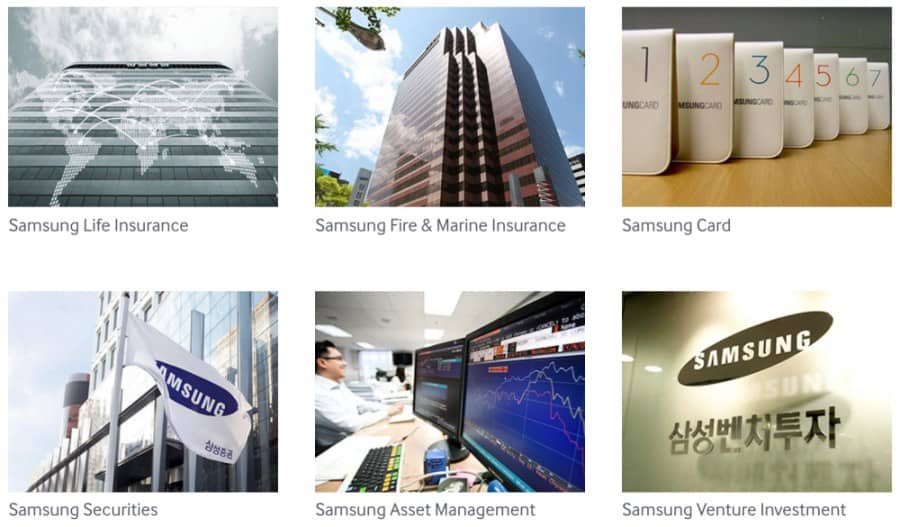 Samsung-businesses
