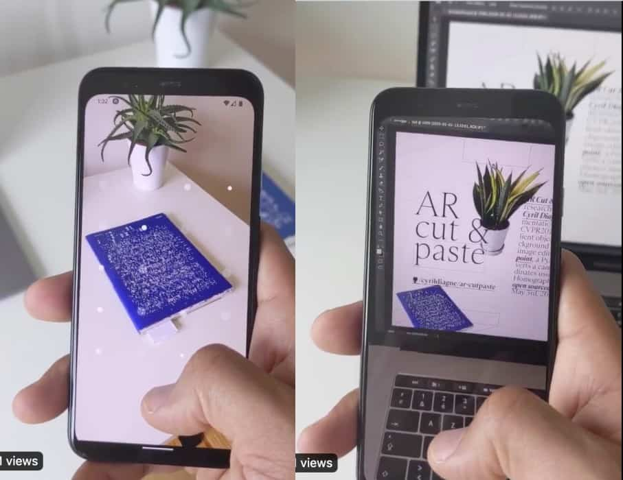 Augmented-Reality-copy-paste-real-world-objects