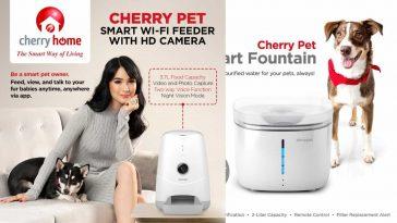 Cherry-Pet-Smart-WiFi-feeder-Fountain