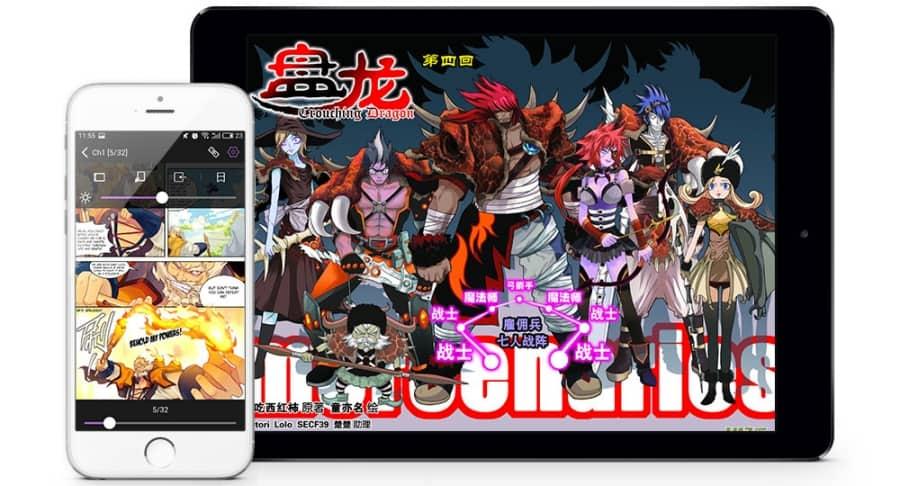 Mangazone-app