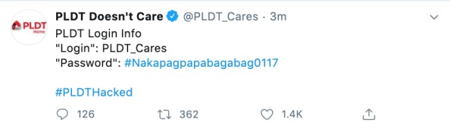 PLDT-Twitter-hacked-anonymous