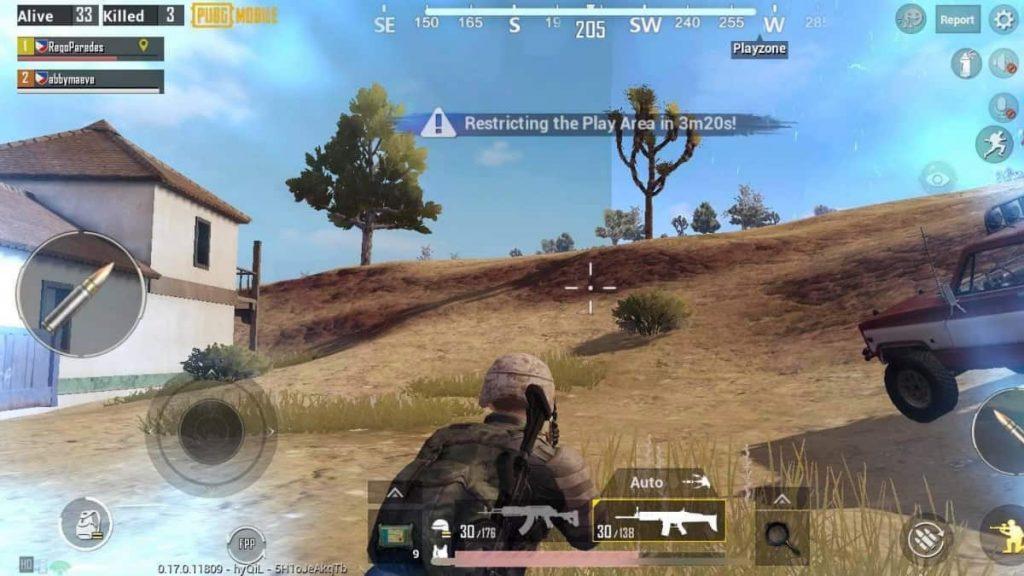 PUBG-mobile-damage-blue-zone-circle