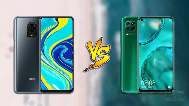 Redmi-Note-9S-vs-Huawei-Nova-7i-specs-comparison