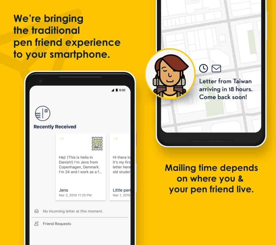Slowly-pen-pal-online-app