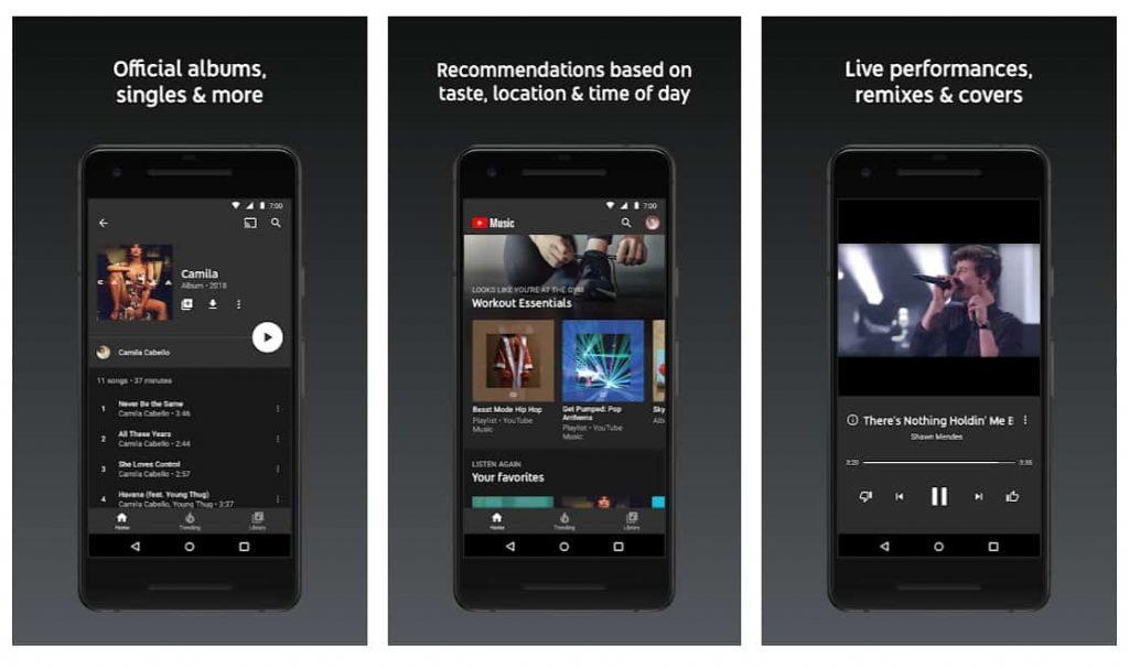 YouTube-music-Spotify
