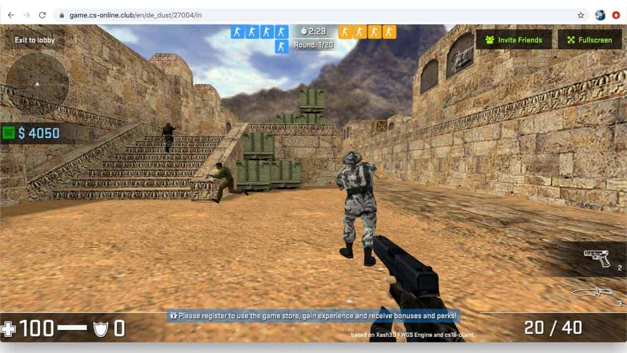 Counter Strike Browser