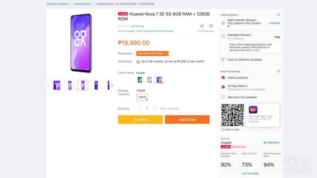 Huawei-Nova-7-SE-5G-Lazada-Philippines-NoypiGeeks-5321
