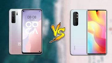 Huawei-Nova-7-SE-5G-vs-Xiaomi-Mi-Note-10-Lite-specs-comparison
