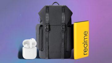 Realme-Buds-Air-Neo-Power-Bank-2-Adventurer-Backpack-NoypiGeeks