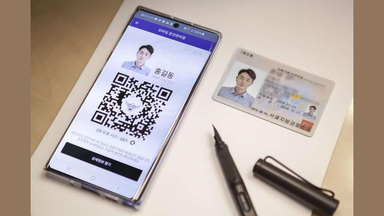 South Korea pioneers digital driver's license on smartphones