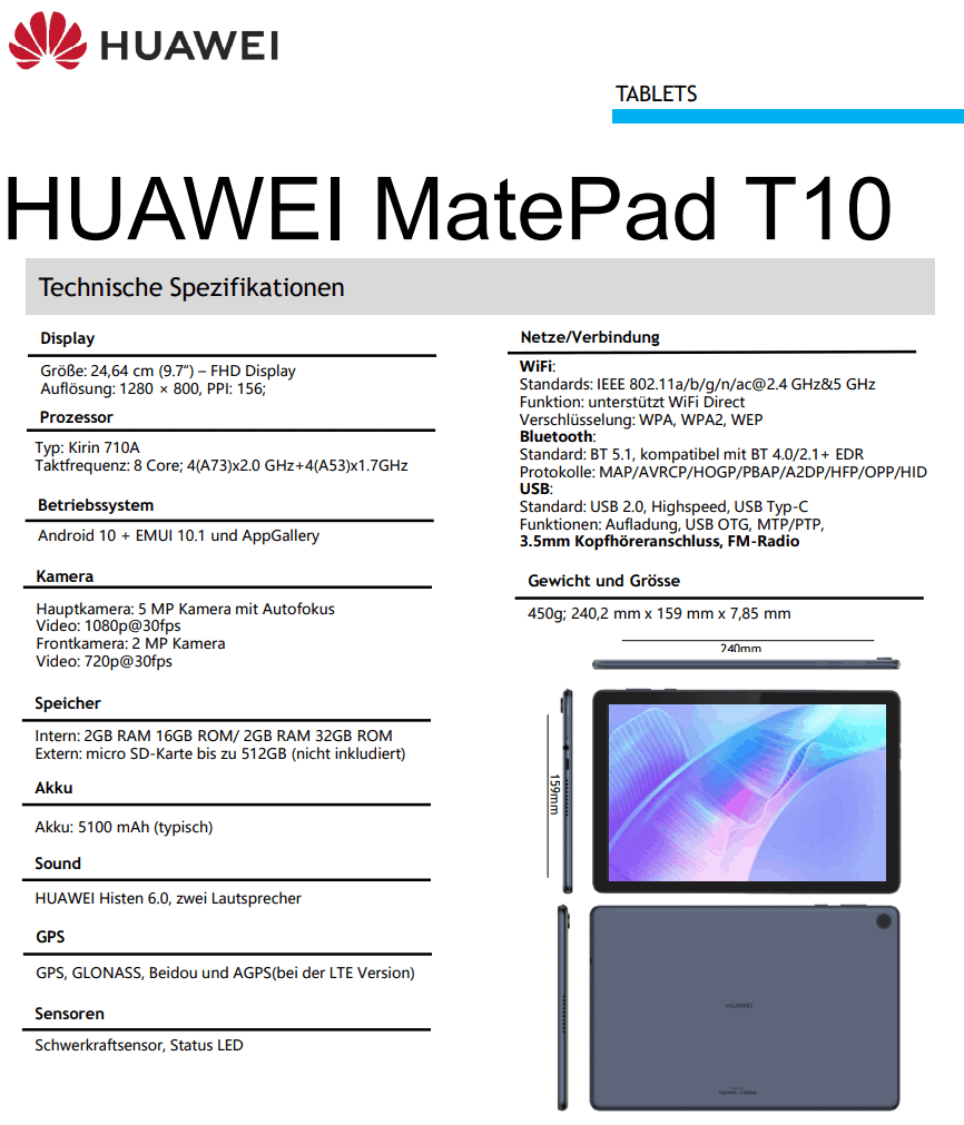 Huawei-MatePad-T10-specs