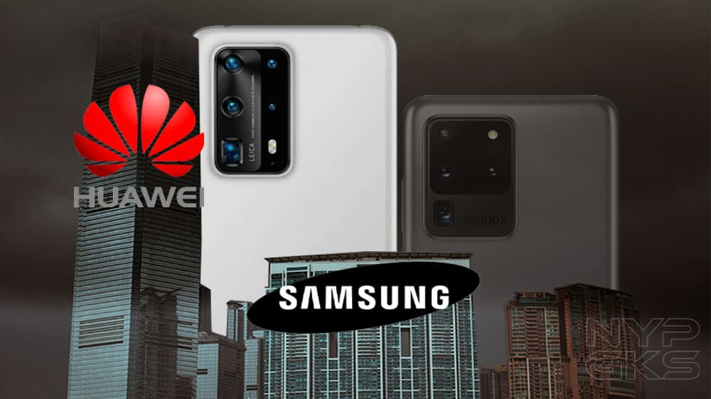 Huawei beats Samsung to become the #1 smartphone maker in the world