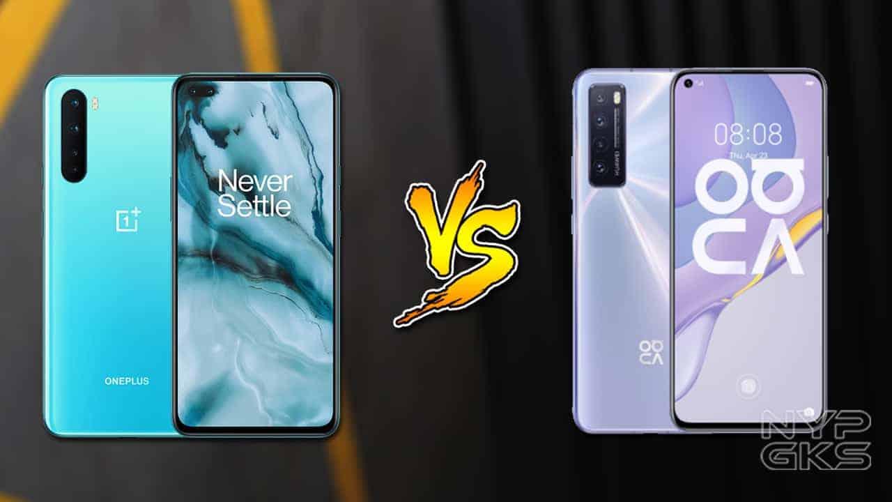 oneplus nord vs huawei nova 7 5g specs comparison noypigeeks oneplus nord vs huawei nova 7 5g specs