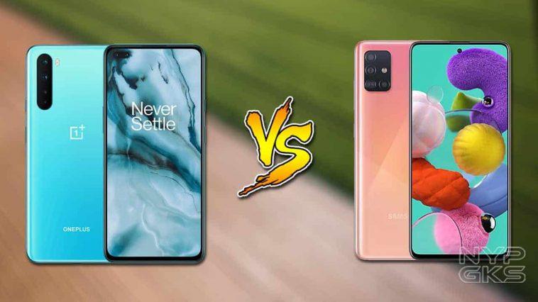 OnePlus-Nord-vs-Samsung-Galaxy-A71-specs-comparison