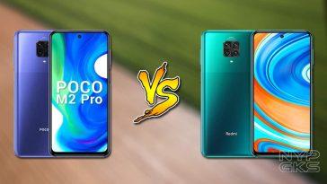 POCO-M2-Pro-vs-Redmi-Note-9-Pro-specs-comparison