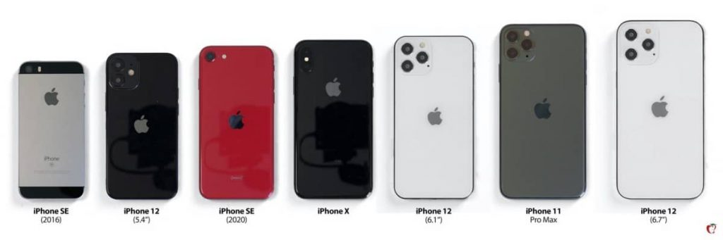 iPhone-12-sizes-comparison