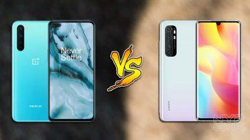 oneplus-nord-vs-xiaomi-mi-note-10-lite-specs-NoypiGeeks