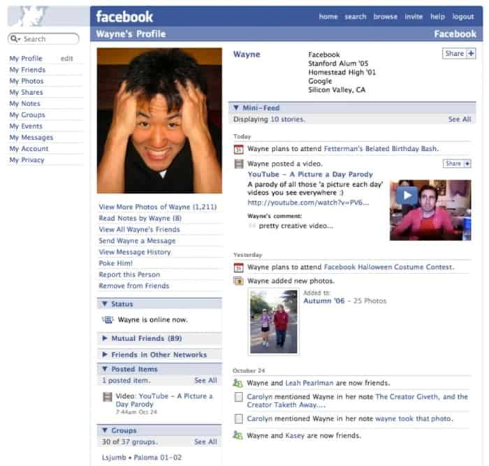 Facebook-Profile-2006