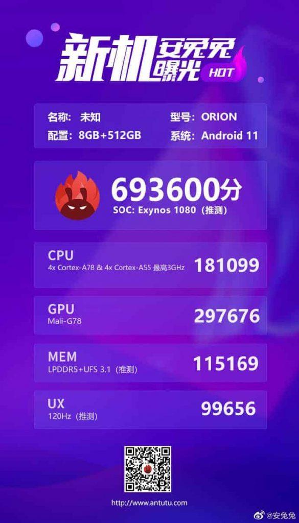 exynos-1080-cpu-leaked-antutu-beating-snapdragon-865-plus-5023