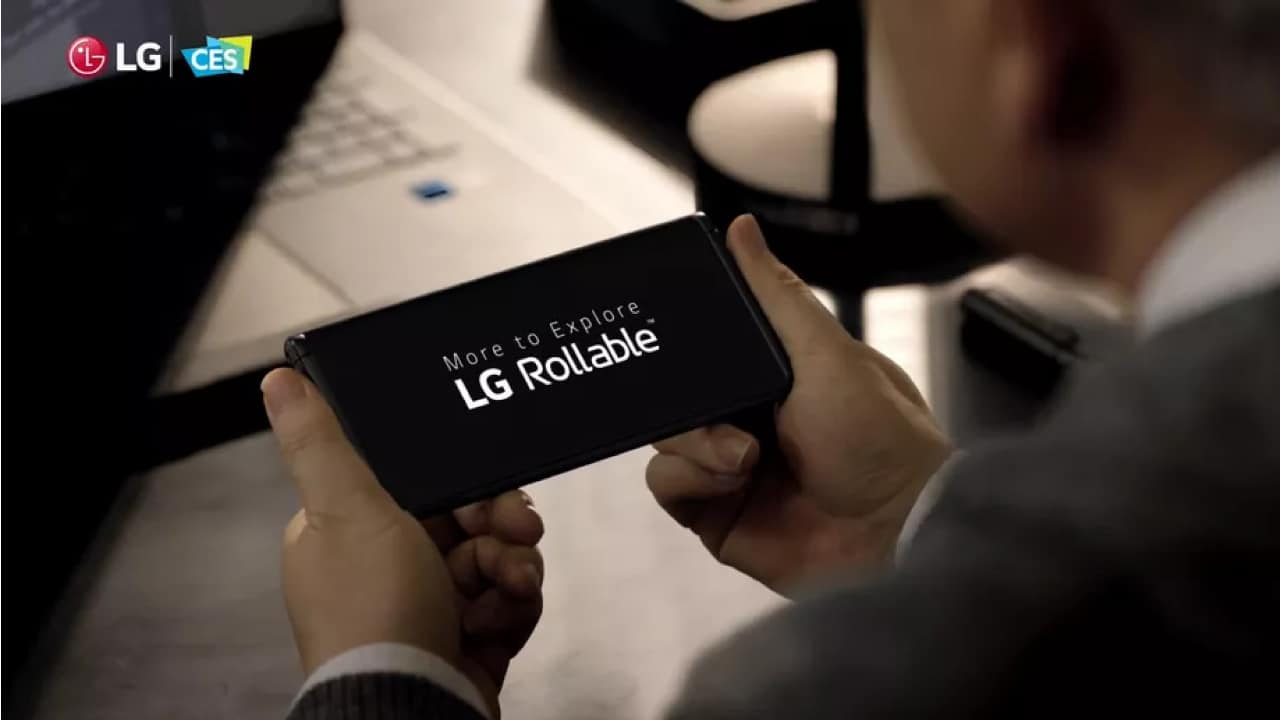 LG Rollable smartphone teased, to launch this 2021