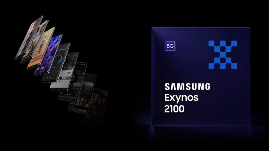 Exynos 2100 5nm flagship processor with integrated 5G modem unveiled
