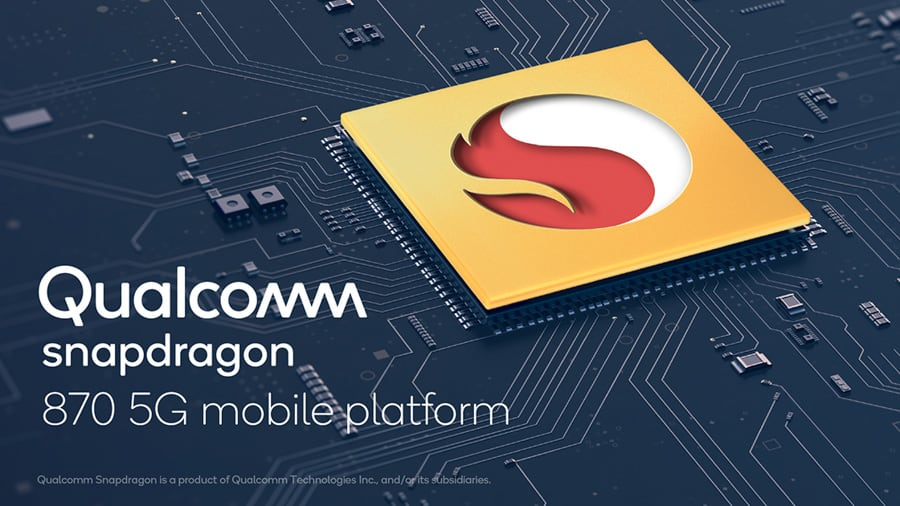 Qualcomm Snapdragon 870 5G announced, has the highest clock speed at 3.2GHz