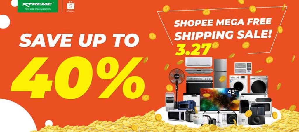 XTREME-Appliances-sale-Shopee